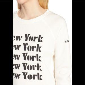 Rebecca Minkoff Tops - Rebecca Minkoff New York Is For Lovers Sweatshirt